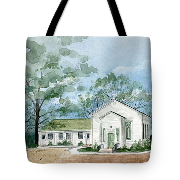 Sicklerville 1859 Church  Tote Bag