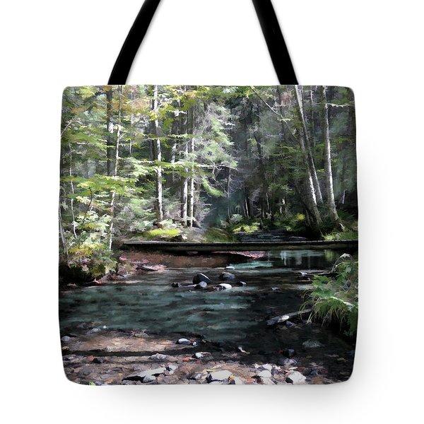 Side Brook Tote Bag
