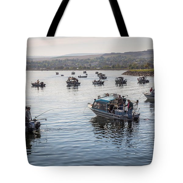 Side By Side Tote Bag by Brad Stinson