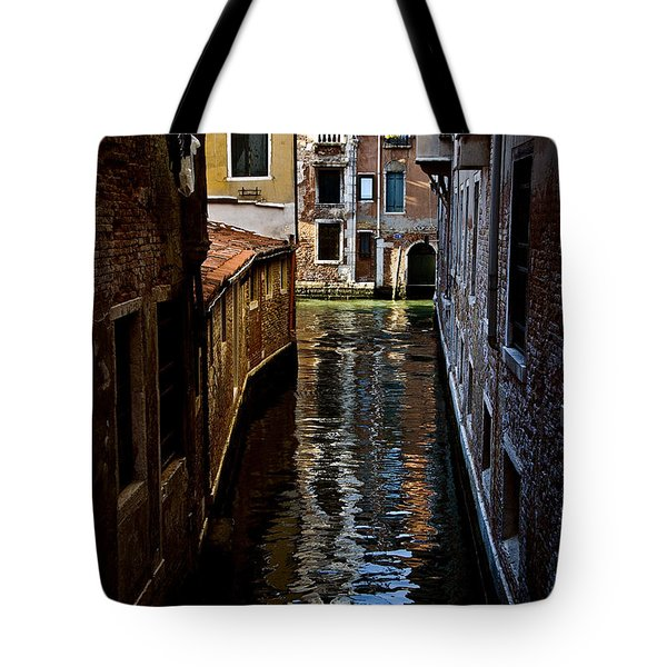 Side Canal Tote Bag