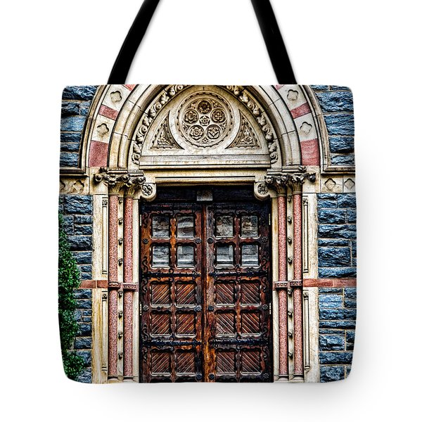 Side Entrance Tote Bag by Christopher Holmes