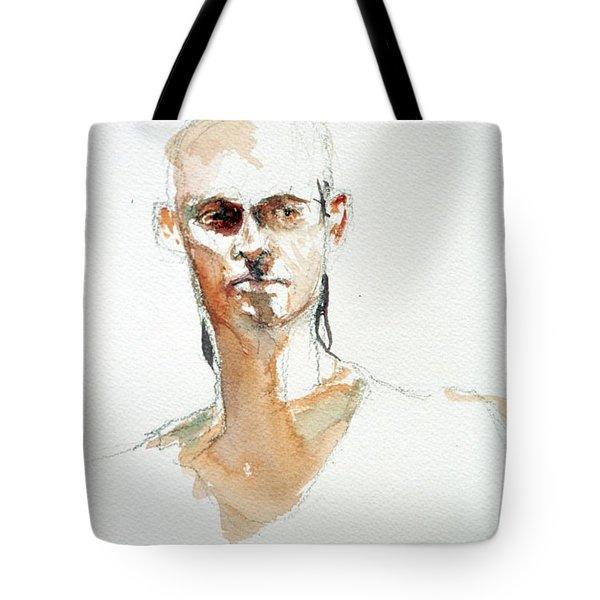 Side Glance Tote Bag