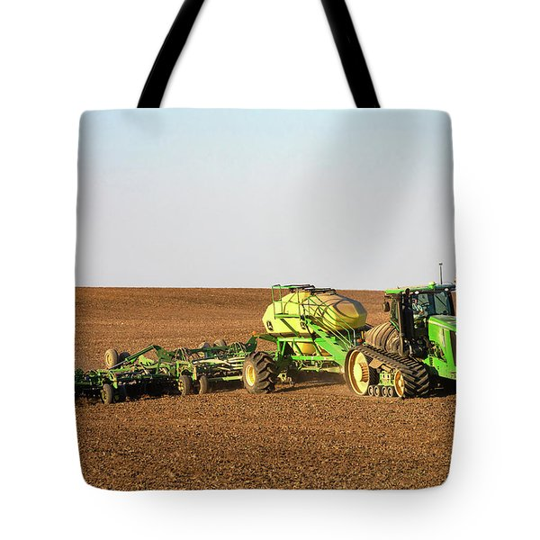 Side Hill Seeding Tote Bag