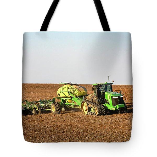 Side Hill Seeding Tote Bag