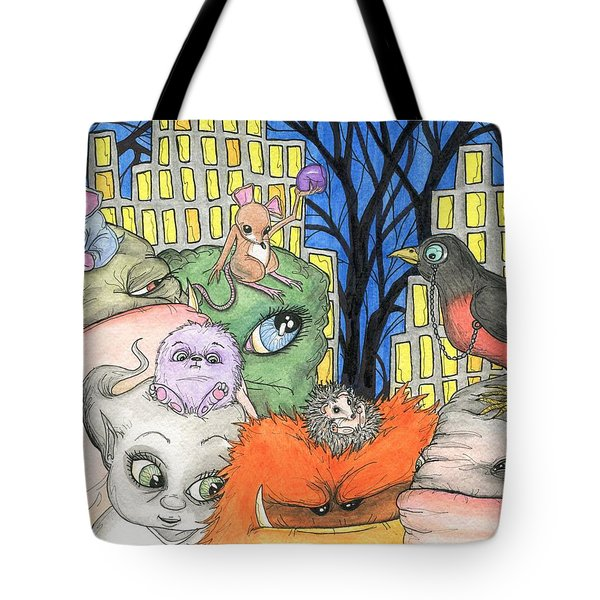 Side Kicks Tote Bag