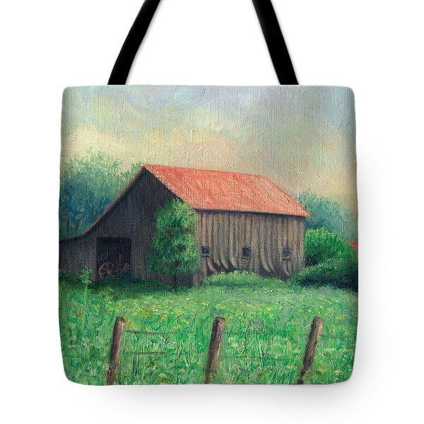 Side Of The Road Tote Bag