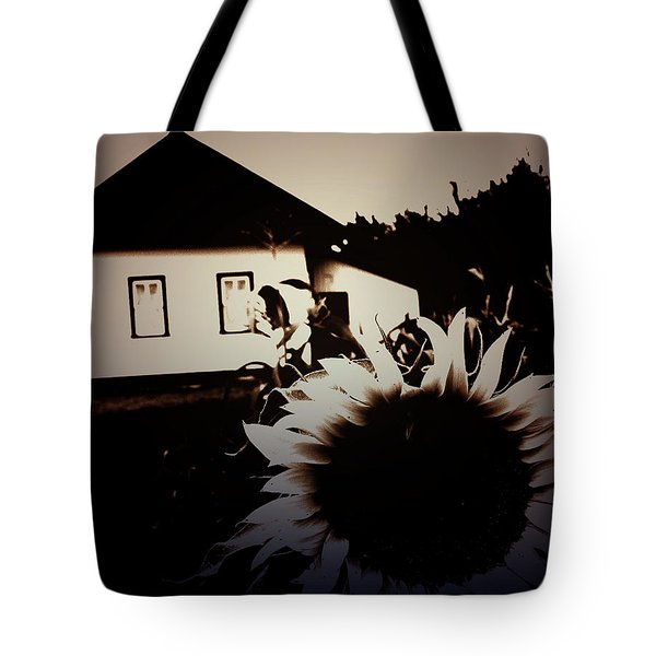 Side Of The Sun Tote Bag by Empty Wall