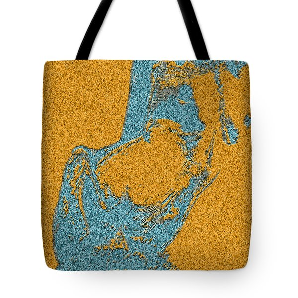 Side Posed Tote Bag by Piety Dsilva