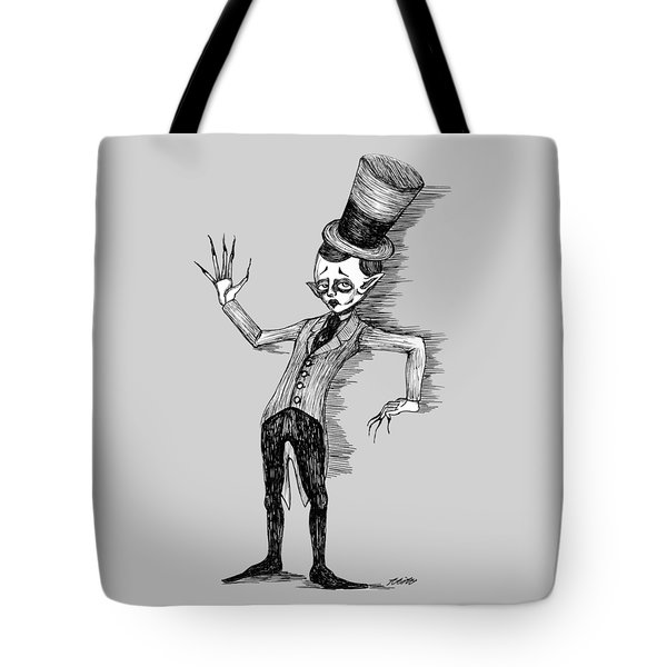 Side Show Performer Tote Bag