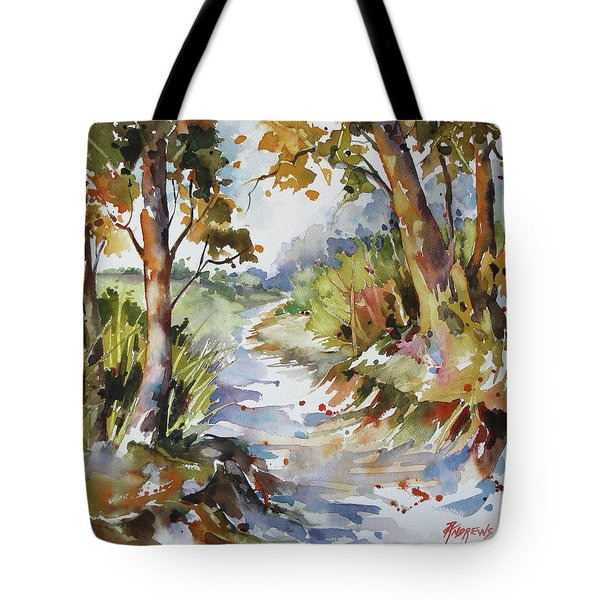 Side Track Tote Bag