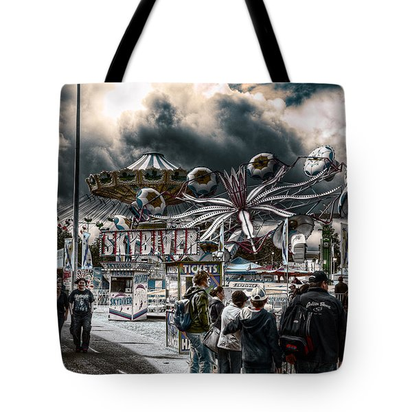 Sideshow Alley Tote Bag