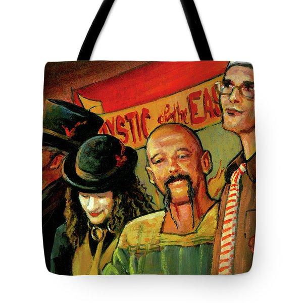 Sideshow Tote Bag