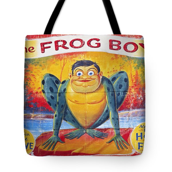 Sideshow Poster, C1945 Tote Bag by Granger