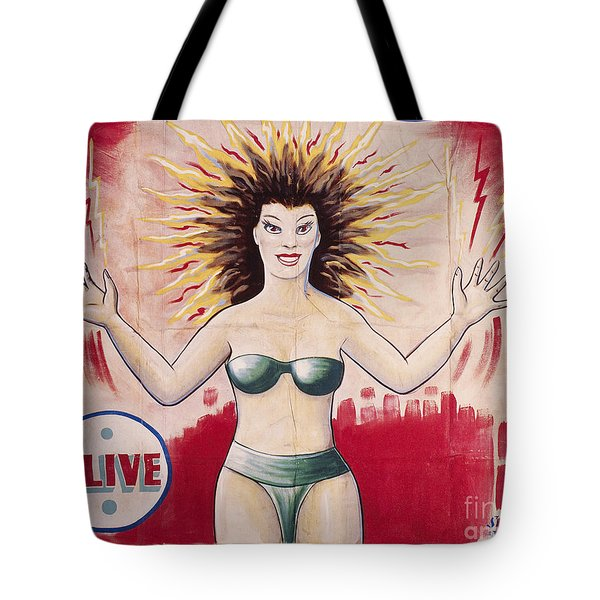 Sideshow Poster, C1965 Tote Bag by Granger