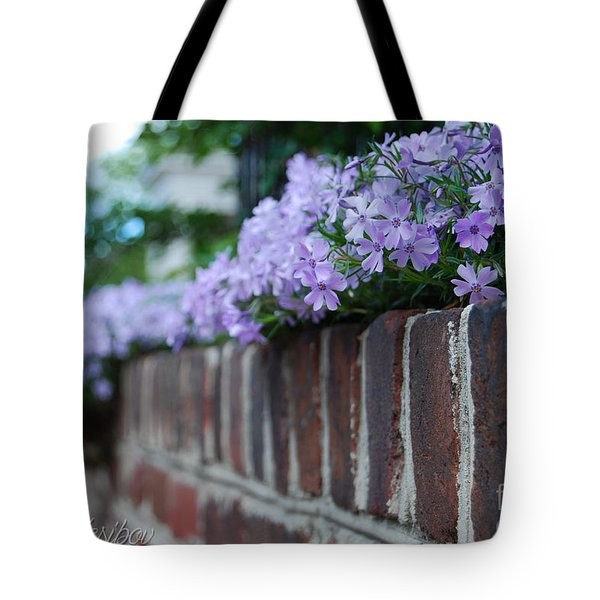 Sidewalk Art Tote Bag