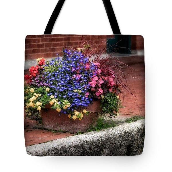 Sidewalk Beauty Tote Bag