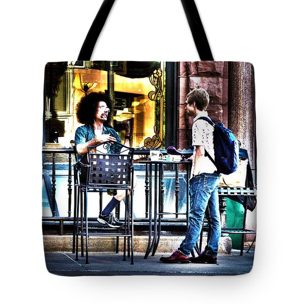 048 - Sidewalk Cafe Tote Bag