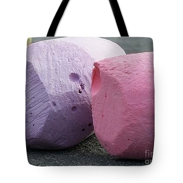 Sidewalk Chalk Collection Photo 1 Tote Bag