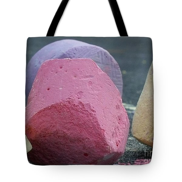 Sidewalk Chalk Collection Photo 2 Tote Bag