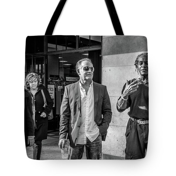 Sidewalk Circulation Tote Bag