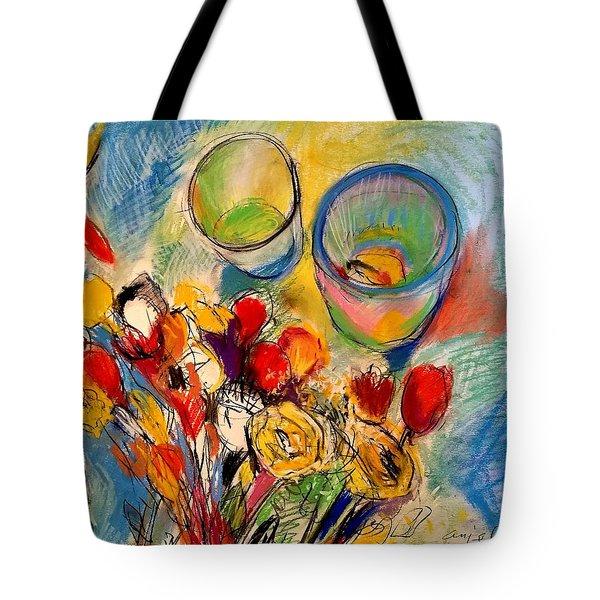 Sidewalk Stille-life Tote Bag