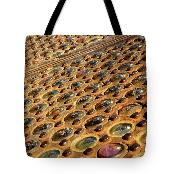 Sidewalk Vault Lights Tote Bag