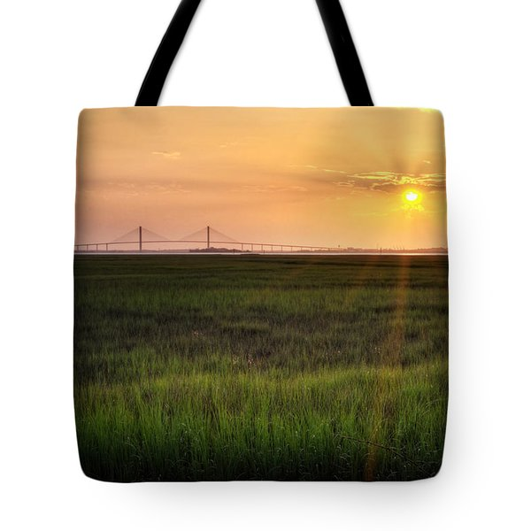Sidney Lanier At Sunset Tote Bag