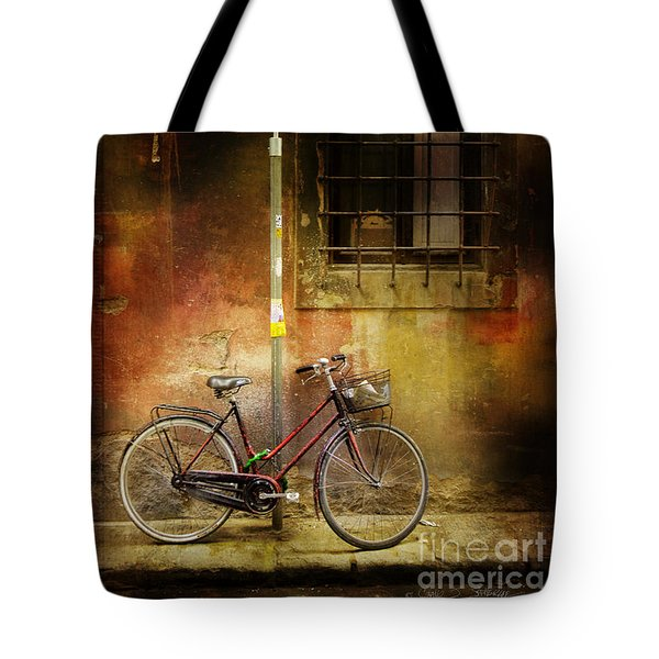 Siena Bicycle Tote Bag by Craig J Satterlee