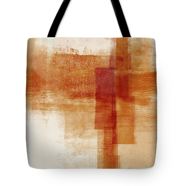 Sienna 1- Abstract Art By Linda Woods Tote Bag