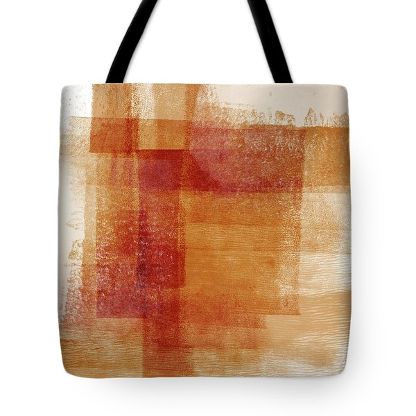 Sienna 2- Abstract Art By Linda Woods Tote Bag