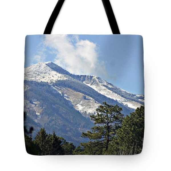 Sierra Blanca Clouds 4 Tote Bag
