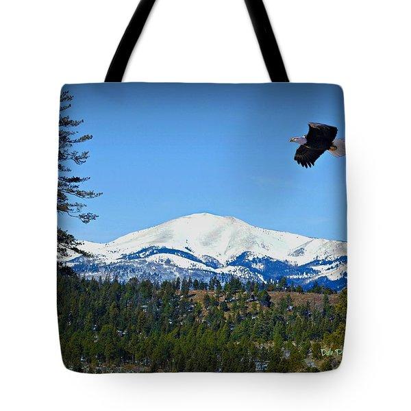 Sierra Blanca Mountian Tote Bag