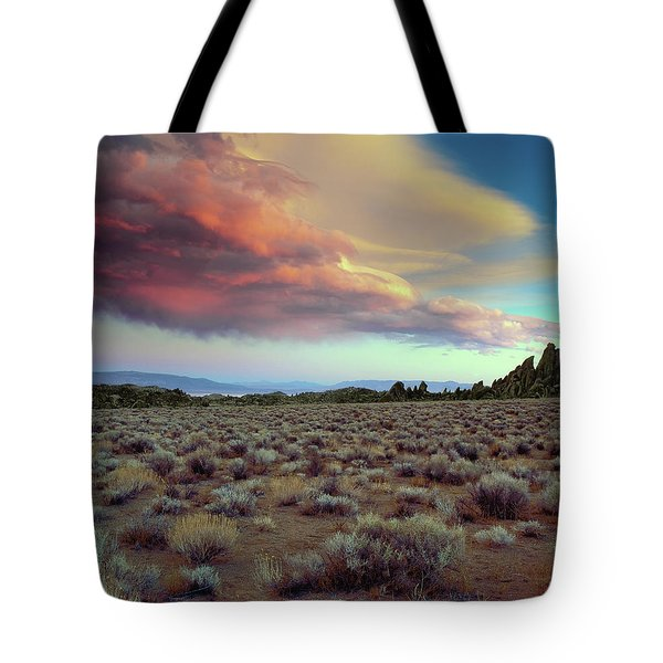 Sierra Crescendo Tote Bag
