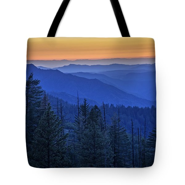 Sierra Fire Tote Bag