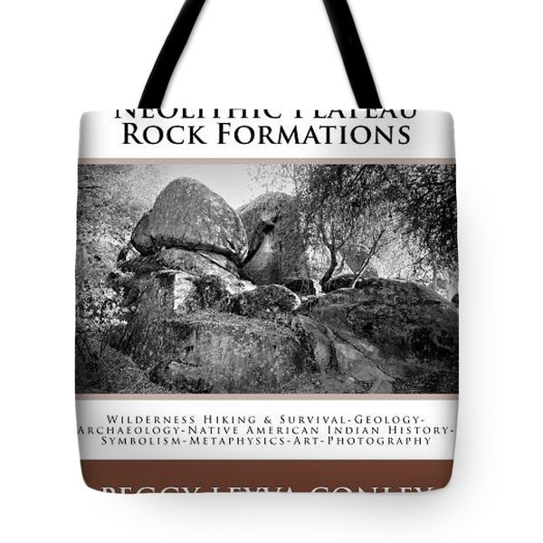 Sierra Indigenous Neolithic Plateau Rock Formations Tote Bag