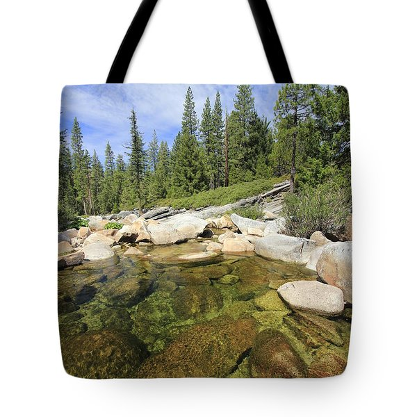 Tote Bag featuring the photograph Sierra Morning by Sean Sarsfield