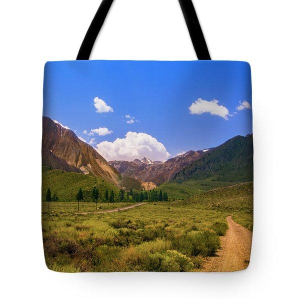 Sierra Mountains - Mammoth Lakes, California Tote Bag