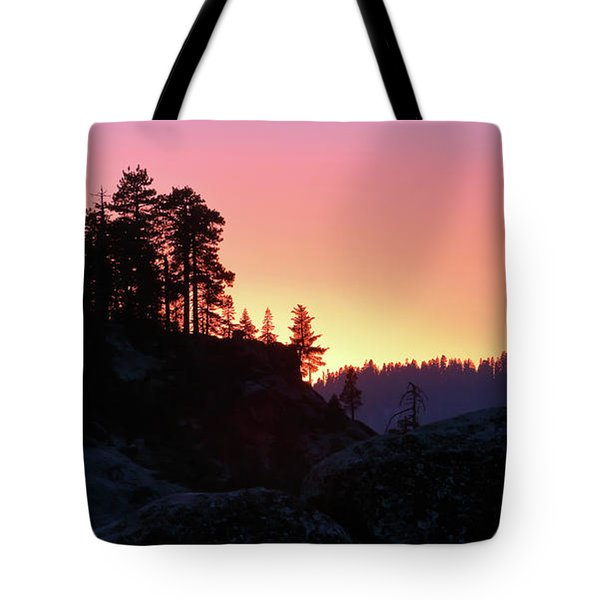 Sierra Nevada Dusk Tote Bag