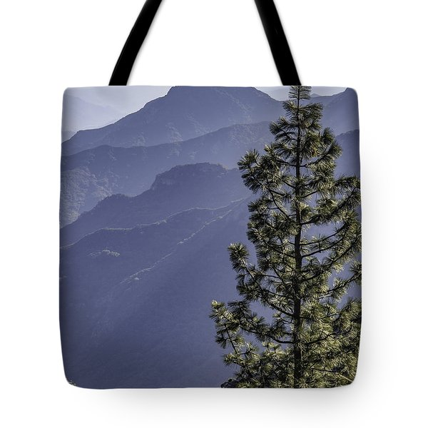 Tote Bag featuring the photograph Sierra Nevada Foothills by Steven Sparks