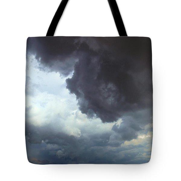 Sierra Nevada October Thunderstorm Tote Bag