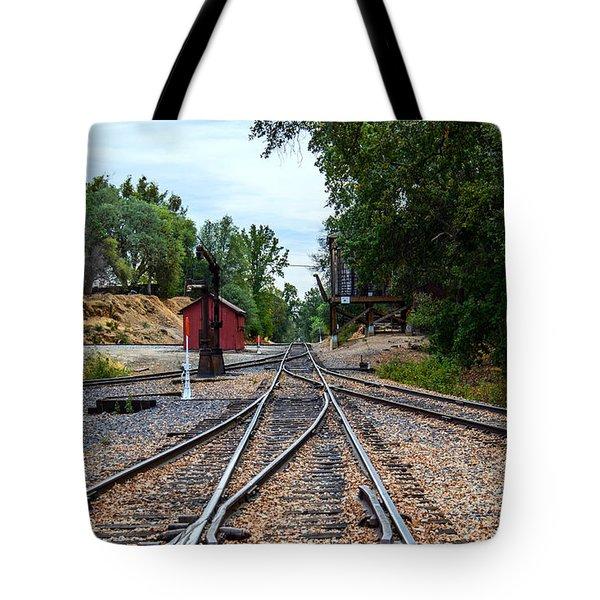 Sierra Railway Tote Bag