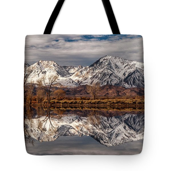 Sierra Reflections 2 Tote Bag by Cat Connor