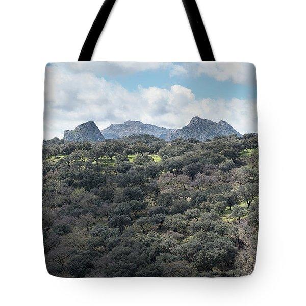 Sierra Ronda, Andalucia Spain Tote Bag
