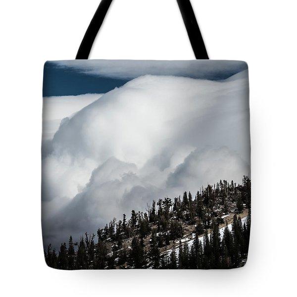 Sierra Stormclouds Tote Bag