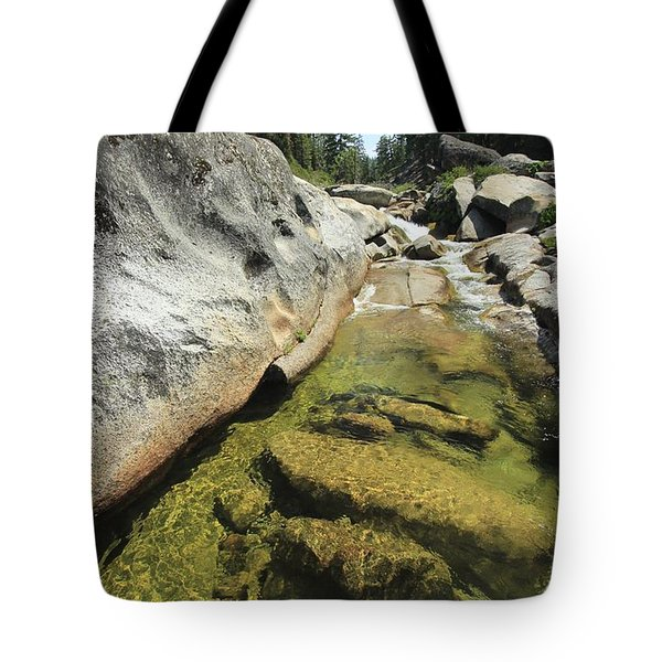 Tote Bag featuring the photograph Sierra Summer Flow by Sean Sarsfield