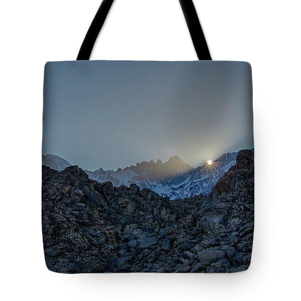 Sierra Sun Burst Tote Bag