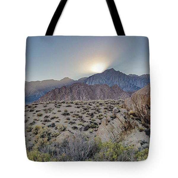 Sierra Sunrays Tote Bag