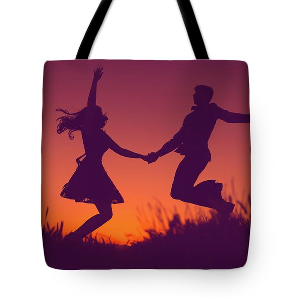Sierra Sunset Tote Bag