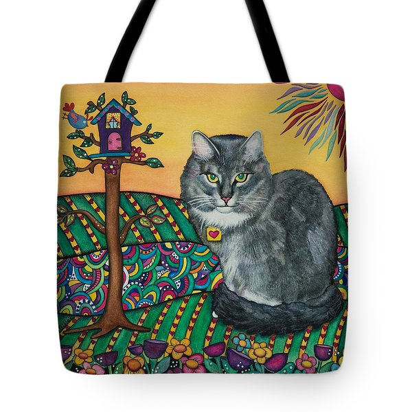 Sierra The Beloved Cat Tote Bag