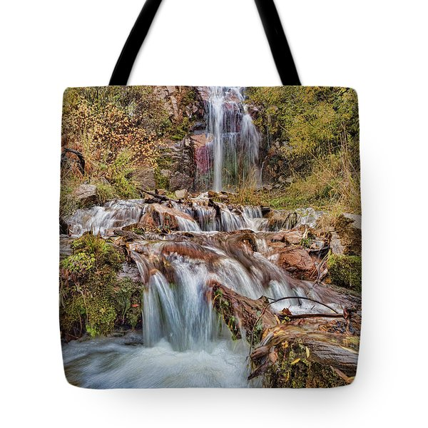 Sierra Waterfall Tote Bag